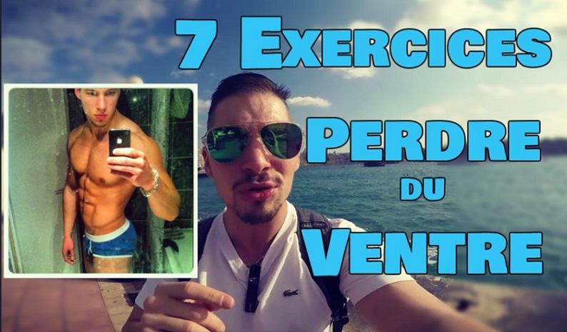 7supers exercices pour perdre du ventre