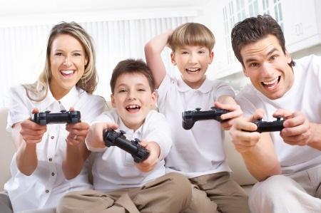 Famille jeux vidéo