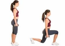 La fente avant, un exercice de gainage pour perdre du ventre