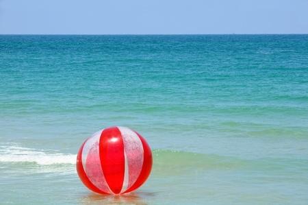 Ballon et plage