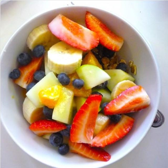 régime aux fruits