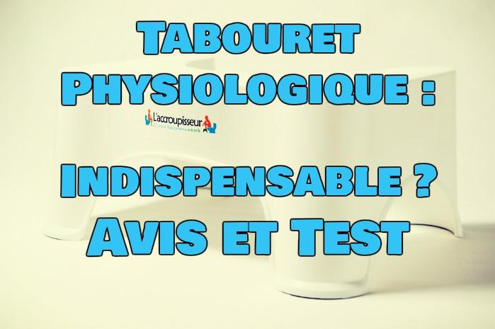 tabouret physiologique